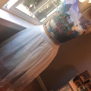 Disney Lauren Conrad Cinderella castle tulle skirt